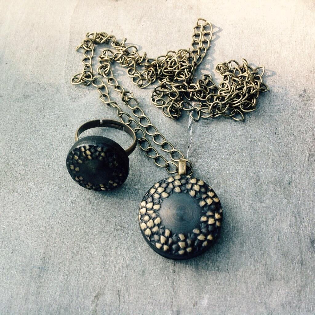 Juwelen vintage knopen